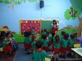 Primer semana de clases en el Jardin 85