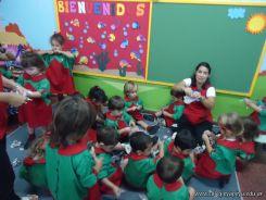 Primer semana de clases en el Jardin 90