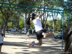Educacion Fisica en el Parque Mitre 21