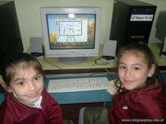 Primer grado en Sala de Computacion 1