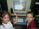 Primer grado en Sala de Computacion 16