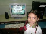 Primer grado en Sala de Computacion 25