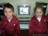 Primer grado en Sala de Computacion 26
