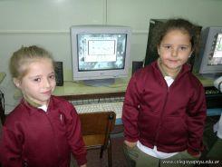 Primer grado en Sala de Computacion 32