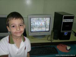 Primer grado en Sala de Computacion 33