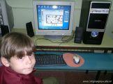 Primer grado en Sala de Computacion 46