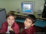 Primer grado en Sala de Computacion 7