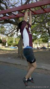 Entrenando para Rugby en la Costanera 41