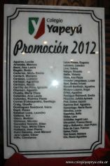 Acto de Colacion de la Promoción 2012 1