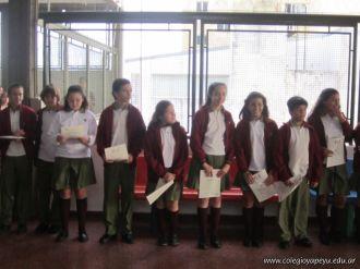 Entrega de Certificados en Secundaria 12