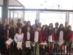 Entrega de Certificados en Secundaria 16