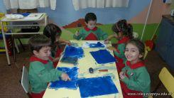 Pintando en Salas de 3 1