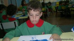 Pintando en Salas de 3 10