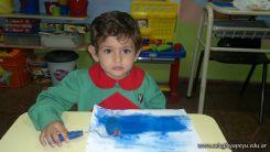 Pintando en Salas de 3 12