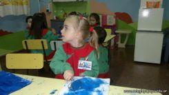 Pintando en Salas de 3 13