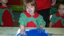 Pintando en Salas de 3 14