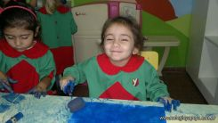 Pintando en Salas de 3 19