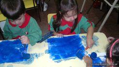 Pintando en Salas de 3 2