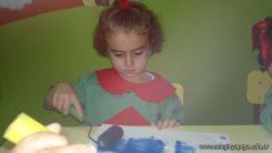 Pintando en Salas de 3 8