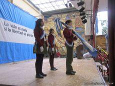 Acto por el Dia de la Bandera de la Secundaria 13