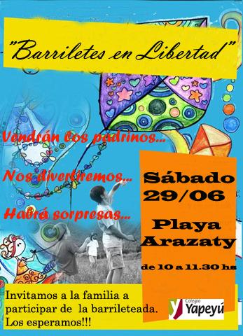 Invitacion Barrilete