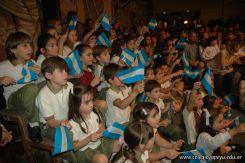 Acto por el Dia de la Independencia en la Primaria 90