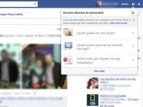 Uso seguro de Facebook
