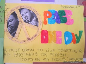 Afiches Peace One Day 25