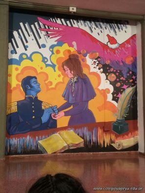 Inauguracion del Mural 49