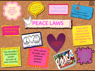 Posters Peace One Day 1