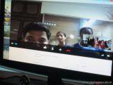 Videoconferencia con India 2