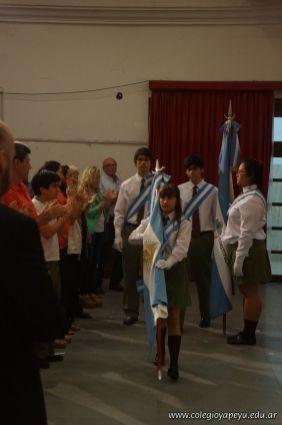 Acto de Clausura del Ciclo Lectivo 2013 de la Secundaria 139