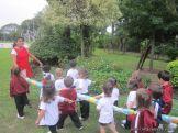 El Jardin comenzo las Clases en el Campo 50