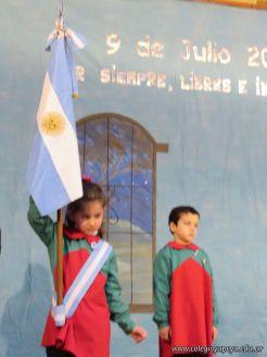 Acto por el Dia de la Independencia en el Jardin 47