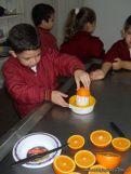 Jugo de Naranjas en Salas de 5 4