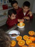 Jugo de Naranjas en Salas de 5 6