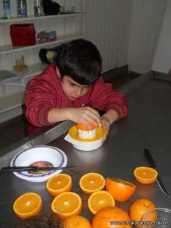 Jugo de Naranjas en Salas de 5 7