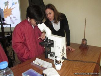 Aprendimos a usar el Microscopio Optico 34