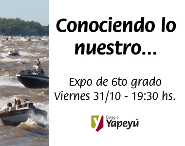 Expo Yapeyu de 6to grado