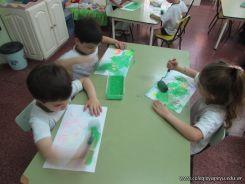 Crayon Fluor y Tempera Aguada 10