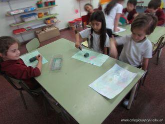 Crayon Fluor y Tempera Aguada 20