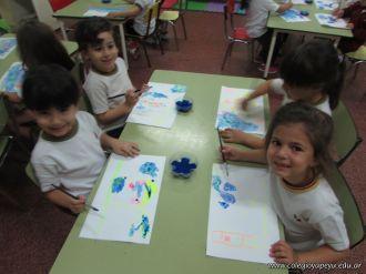 Crayon Fluor y Tempera Aguada 23
