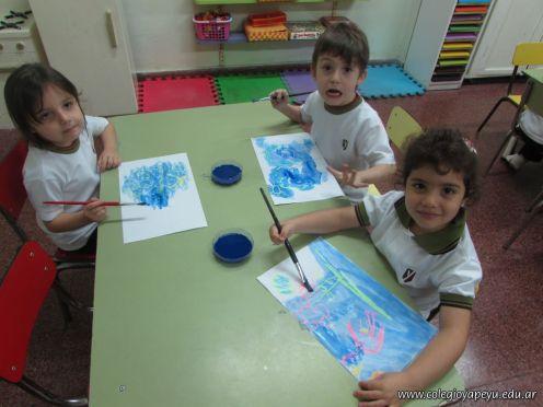 Crayon Fluor y Tempera Aguada 26