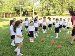 El Jardín comenzó Educación Física 10