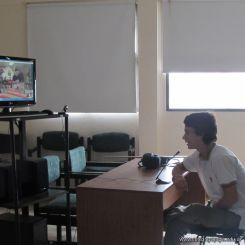 Skype con el North Cross School 10