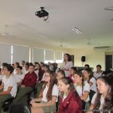 Skype con el North Cross School 8