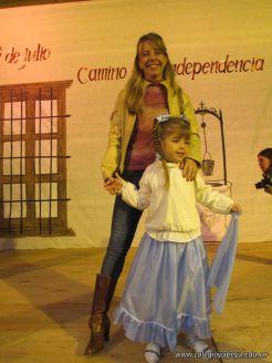 Acto por el Día de la Independencia del Jardin 124