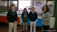Nos visitaron del North Cross High School 10
