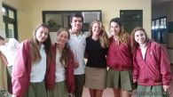 Nos visitaron del North Cross High School 3