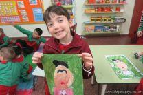 Pintando a Frida Kahlo en Salas de 5 66